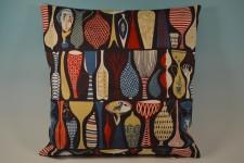 "Tyg ""Pottery"", design Stig Lindberg"
